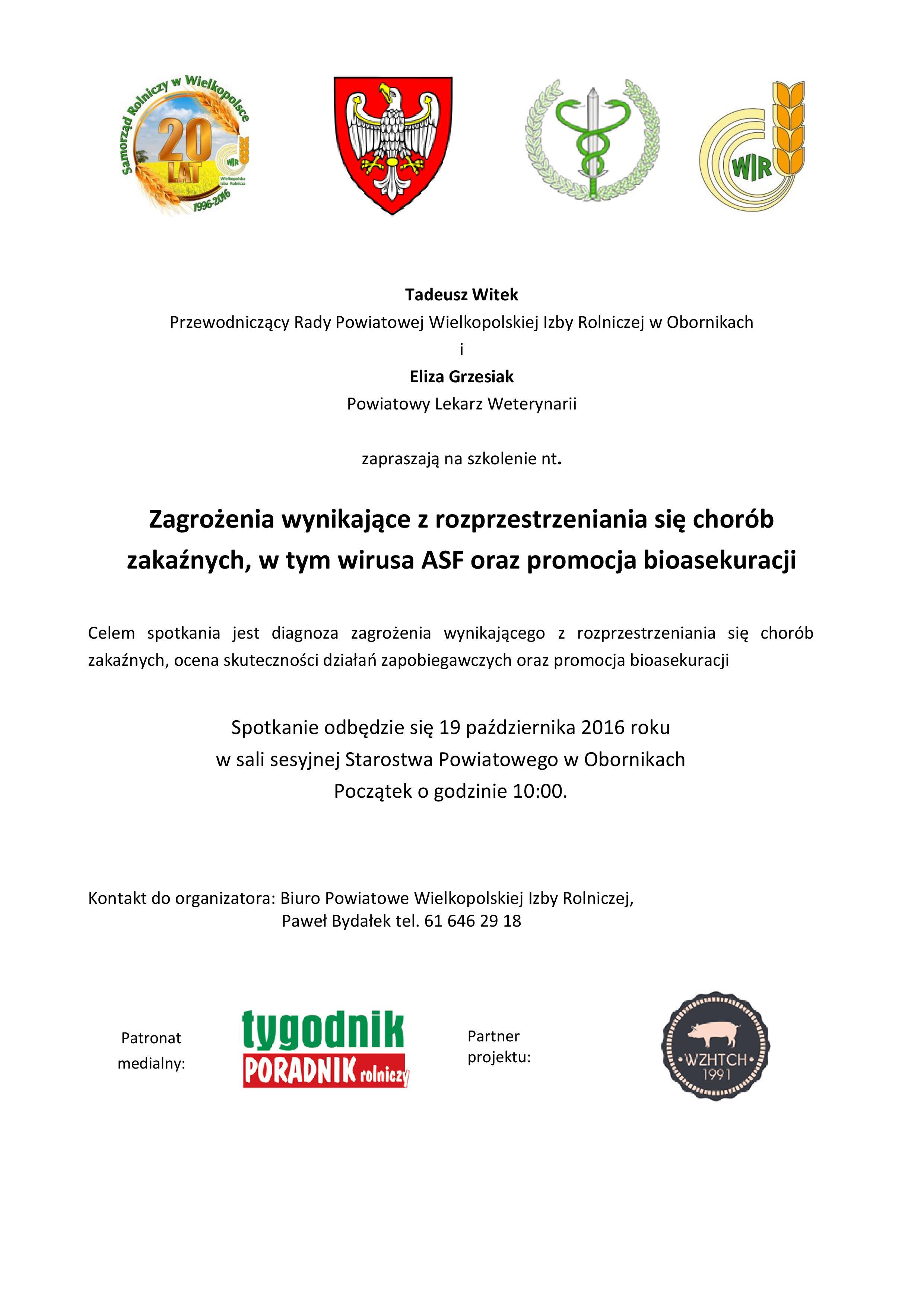 Powiatowy Inspektorat Weterynarii W Obornikach